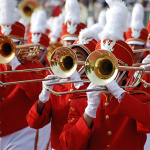 Don't let the parade pass you by, be it with any of the trombones.